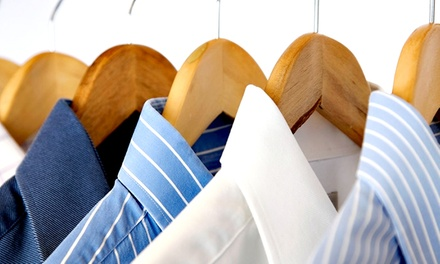 Dry-Cleaning, Laundry, Alterations, or Shoe Repair from Spotout (Up to 50% Off). Two Options Available.