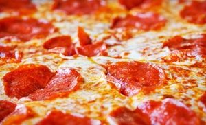 Gionino's Pizzeria Twinsburg: Family Pizza Meal with Cinnamon Bread and Soda, or $12 for $20 Worth of Pizza, Pasta, and Wings