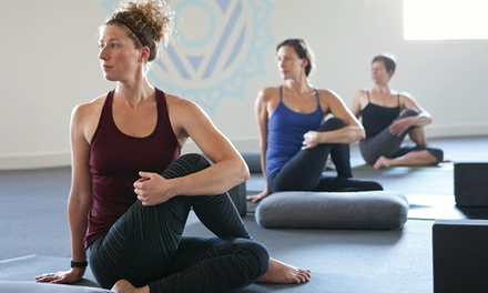 $35 for One Month of Unlimited Yoga Classes at Yoga Six ($149 Value)
