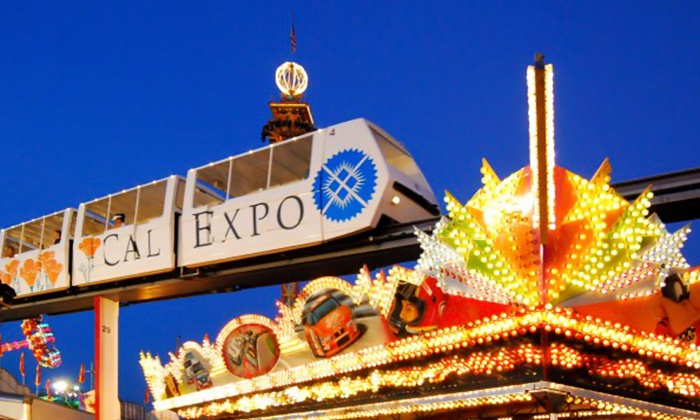 California State Fair - Sacramento: Fair Package for Two with Monorail Rides, or Visit for Four to the California State Fair (Up to 49% Off)