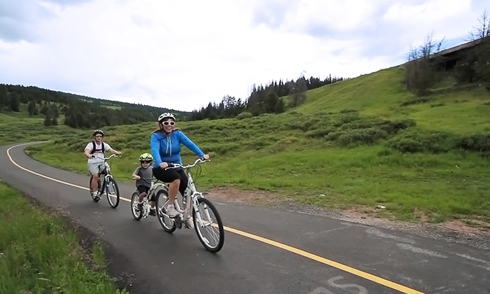 Alpine Sports - Breckenridge: Downhill Bike Ride for Two or Four from Alpine Sports (50% Off)