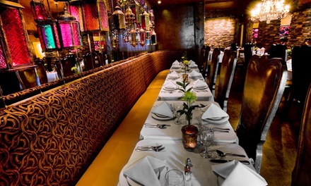 Indian Food for Lunch or Dinner at Monsoon Fine Cuisine of India (Up to 47% Off)