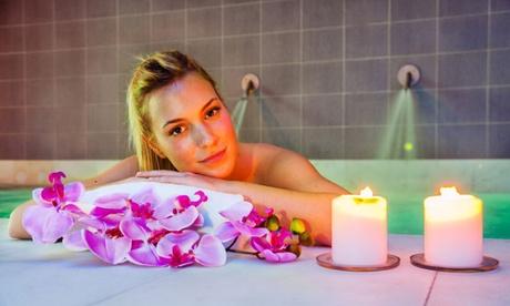 Circuito termal para dos personas con opción a bufé libre y/o masaje relajante desde 28 € en Balneario de Areatza Oferta en Groupon