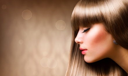 One or Two RE+5 Keratin Treatments or a Japanese Straightening Treatment at Nouveau Hair Gallery (Up to 60% Off)