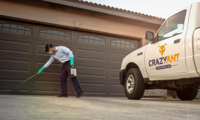 Crazy Ant Pest Control Inc - Fresno: $78 for One Full Indoor/Outdoor Pest Clean-Out Service  ($159 Value) — Crazy Ant Pest Control Inc,