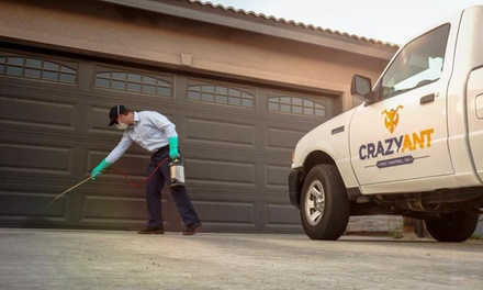 $78 for One Full Indoor/Outdoor Pest Clean-Out Service  ($159 Value) — Crazy Ant Pest Control Inc,