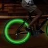 LED Bike Wheel Light Tire Valve Caps (2 Pairs)