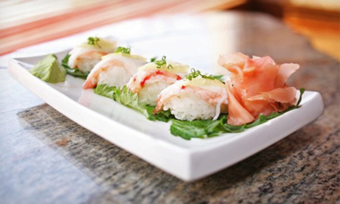 Bonsai Bistro and Sushi Bar - Downtown: Pan-Asian Cuisine for Dinner or Lunch at Bonsai Bistro and Sushi Bar (Half Off)