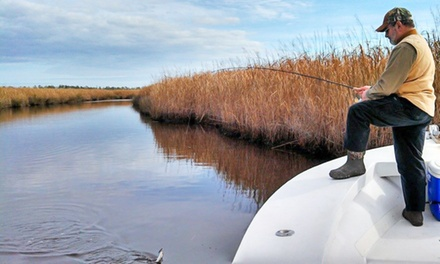 $199 for Fishing Trip for Up to Four from Fingeance Fishing Charters ($400 Value)