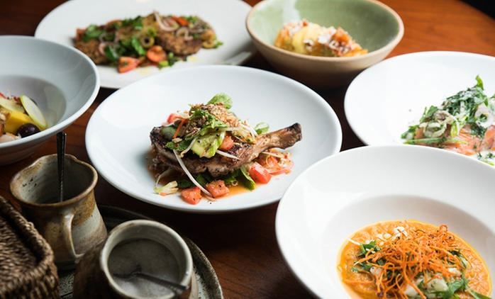 Three-Course Asian-Fusion Dinner for Two ($55) or Four People ($109) at Origin Dining, Willoughby (Up to $233 Value)