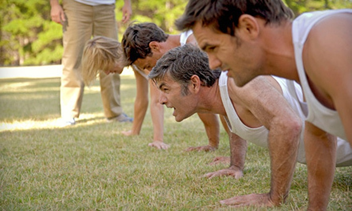 Heart in Sol - Multiple Locations: Four or Eight Weeks of Indoor-and-Outdoor Boot Camp from Heart In Sol (78% Off)