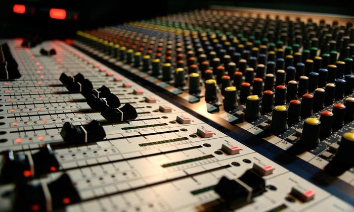 Boombox Recording Studio - Richmond: $30 for $55 Worth of Recording-Studio Rental — BOOMBOX RECORDING STUDIO