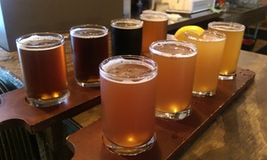 Newaygo Brewing Company: Beer Flights and Appetizers for Two or Four at Newaygo Brewing Company (Up to 54% Off)