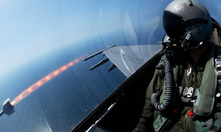 $49 for One-Hour Fighter-Jet Simulator from Eighth Air Force Historical Society ($135 Value)