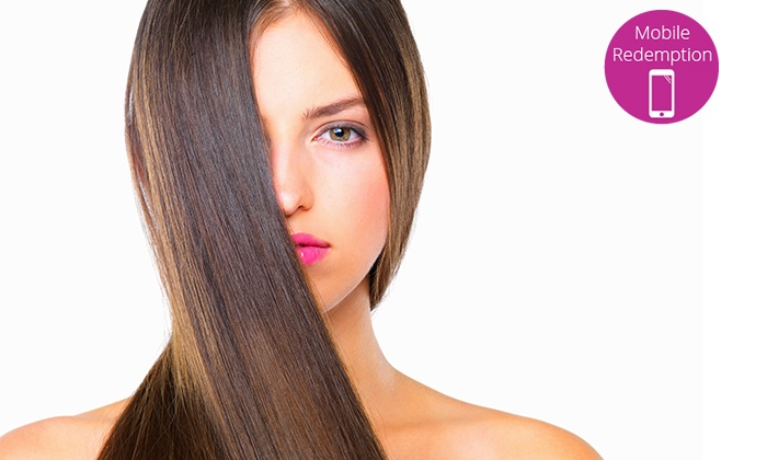 Time for Hair - Southport: $79 for a Keratin Smoothing Hair Treatment, or $99 to Add Style Cut and Blow Dry at Time for Hair (Up to $316 Value)