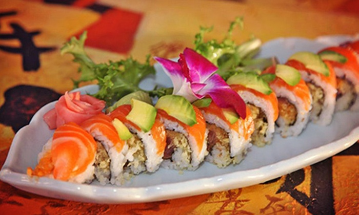 Tokyo Bay Japanese Restaurant - St. Petersburg: Sushi and Japanese Cuisine at Tokyo Bay Japanese Restaurant (Half Off). Two Options Available.