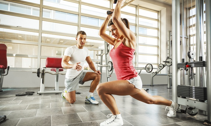 Club 24 Concept Gyms - Wallingford Center: Two Personal Training Sessions at Club 24 Concept Gyms (50% Off)