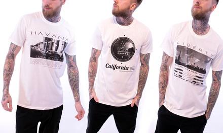3er-Set T-Shirt mit City-Druck im Motiv nach Wahl (Munchen)