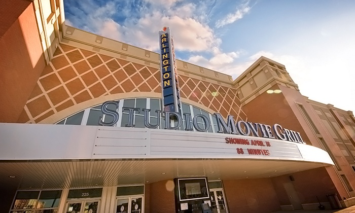 Studio Movie Grill - Arlington: $5.49 for a Movie Ticket at Studio Movie Grill (Up to $10.50 Value)