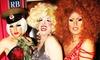 Cena y espectáculo drag en el centro