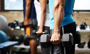 PowerHouse Gym: One- or Three-Month Gym Membership at PowerHouse Gym (Up to 81% Off)