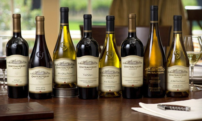 Chateau St. Jean - Kenwood: $30 Worth of Private-Label Wines and Tastings