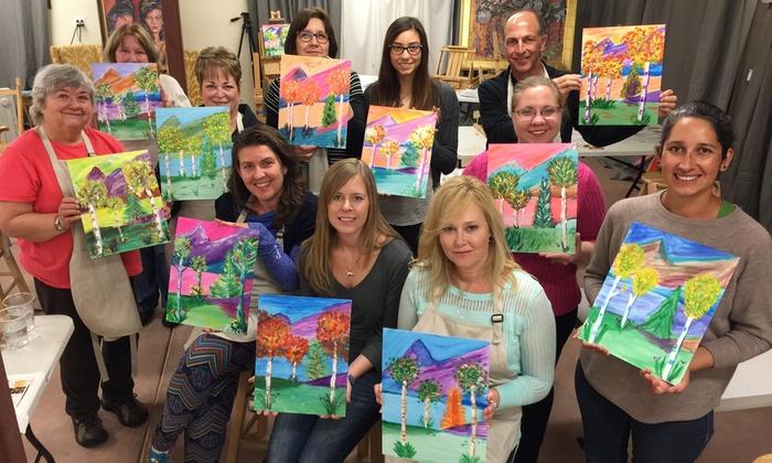 Santa Fe Art Classes - Historic District: Painting Class for One or Two at Santa Fe Art Classes (Up to 46% Off)