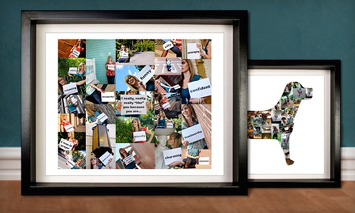 ScrapWalls: Custom Digital Photo-Collage Prints (Half Off). Two Options Available.
