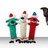 Loofa Pet Toy Santa Assortment 3-Pack