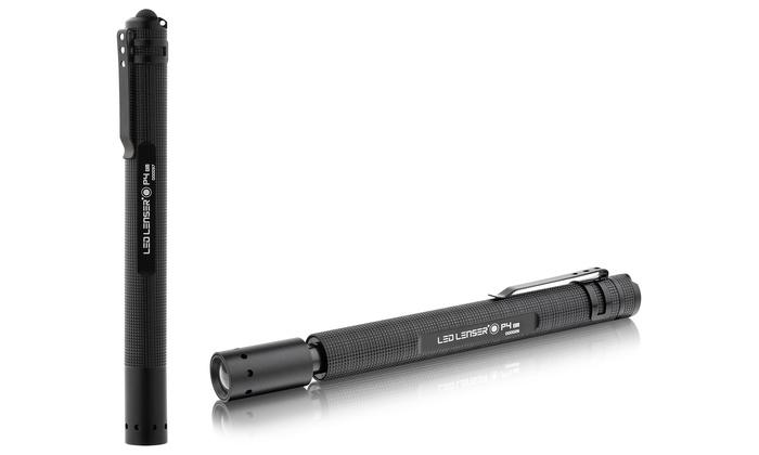LED Lenser P4BM Pocket Flashlight