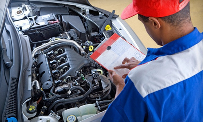 Hogan & Sons Goodyear - Multiple Locations: Auto-Maintenance Package, or Oil Change with Tire Rotation at Hogan & Sons Goodyear (Up to 80% Off)