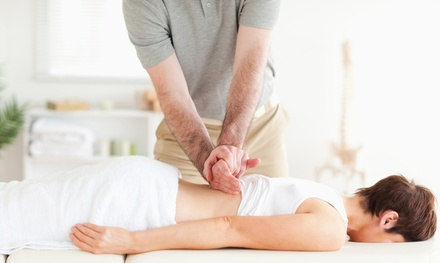 Chiropractic Package at Chiropractic Family & Sports Injury Center (Up to 91% Off). Three Options Available.