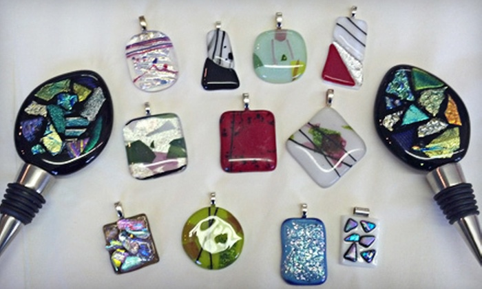 ArtGlass Unlimited - Lincoln: Glass-Fusing Class with Drinks and Snacks for One, Two, or Four at ArtGlass Unlimited (Up to 66% Off)