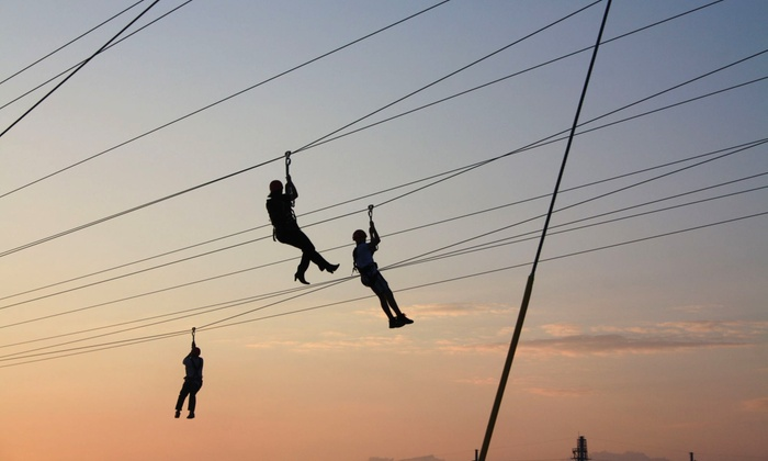 Myrtle Beach Adrenaline Adventures - Myrtle Beach: $29 for a Zipline Ride and Free Fall for Two at Myrtle Beach Zipline Adventures ($58 Value)