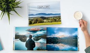 Photobook Canada: Livre photo personnalisé de 40 pages à couverture souple ou rigide par Photobook Canada (jusqu'à 92 % de rabais)