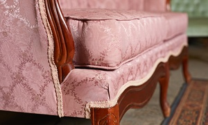 Wash&Plus: Sofa Upholstery Cleaning with Option for Additional Fabric Protection from Wash & Plus (Up to 42% Off)