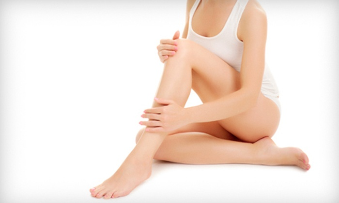 New Look Vein and Aesthetic Center - Saint Louis: One or Two Sclerotherapy Sessions for Spider Veins and Small Varicose Veins at Veins Etc. (Up to 67% Off)