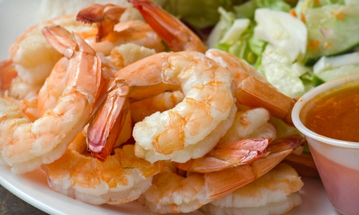 Lawrence's Fisheries - Armour Square: $10 for $20 Worth of Shrimp, Fish, and Chicken  at Lawrence's Fisheries (Half Off)