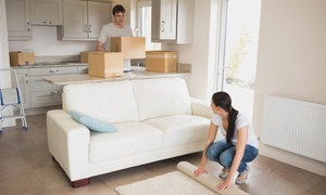 Get Moving & Storage Llc: 120 Minutes of Moving Services with Two Movers and a Moving Truck from Get Moving & Storage LLC  (55% Off)