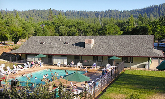 Yosemite Pines - Groveland: Two-Night Stay in a Tent or RV Campsite at Yosemite Pines (Up to 58% Off)