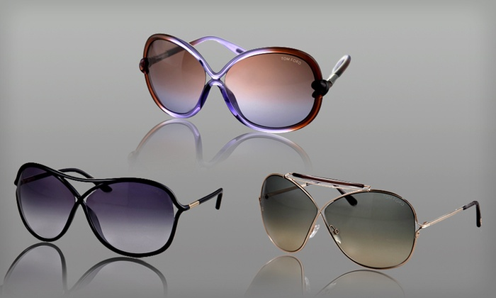 Tom Ford Designer Sunglasses: $85 for Tom Ford Women's or Unisex Sunglasses (Up to $550 List Price). 24 Options Available. Free Shipping and Returns.