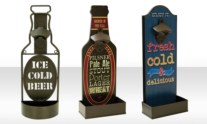 wall mounted bottle openers groupon goods. Black Bedroom Furniture Sets. Home Design Ideas
