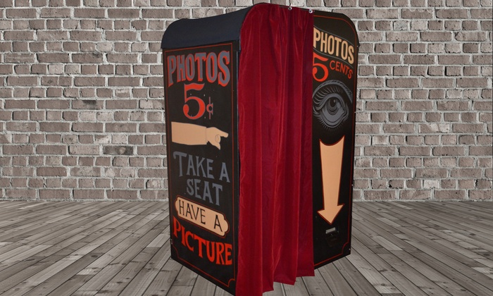5 Cent Photo Booth - San Francisco: $385 for $700 Worth of Photo-Booth Rental — 5 Cent Photo Booth