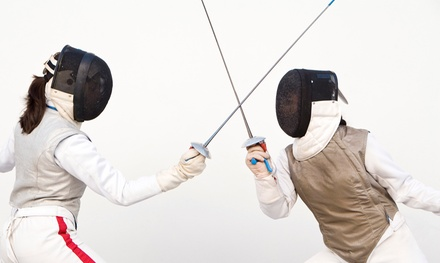 $45 for a One-Month Introductory Fencing Package at Alamo Fencing Academy ($90 Value)
