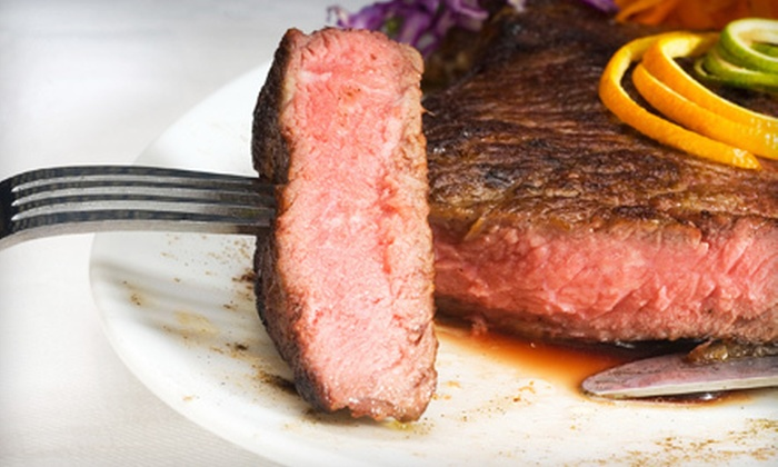 Marvin's Garden of Gourmet Foods: Tailgate Grill Package or $40 for $80 Worth of Meat and Seafood Delivery from Marvin's Garden of Gourmet Foods