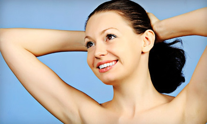 The Face Company - Multiple Locations: Six Laser Hair-Removal Treatments on One Small or Large Area at The Face Company (Up to 77% Off)