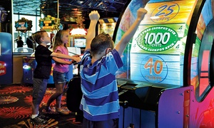 Atlantis Casino Arcade Center: $12 for $20 Worth of Arcade and Video Games at Atlantis Family Fun Center