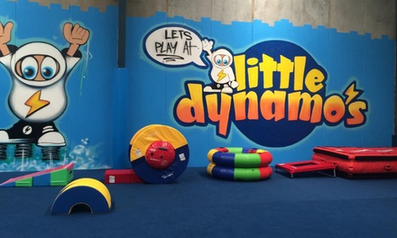 All-Day Entry for One ($9) or Two Children ($18) at Little Dynamo's, Alexandria (Up to $34 Value)