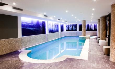 Aix les Bains : Chambre double patio pour 2 personnes, accès spa et bouteille de vin inclus à lhôtel Agora
