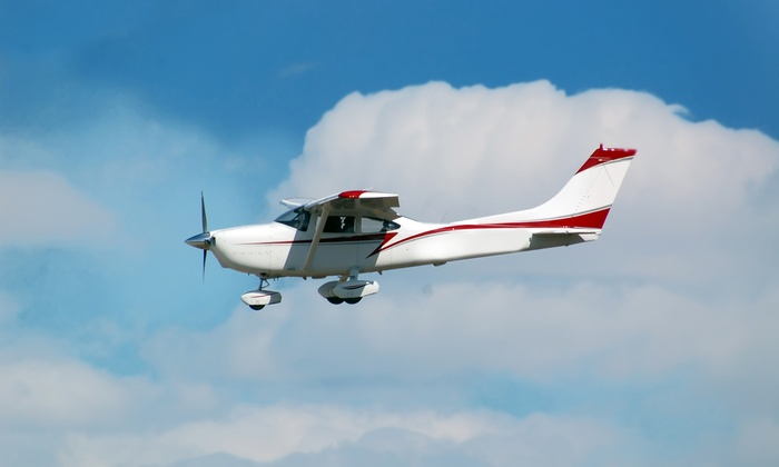 2BAPilot NYC Flight School And Aircraft Rental - Farmingdale: Intro Flight Lesson from 2BAPilot NYC Flight School and Aircraft Rental (Up to 64% Off). 3 Options Available.